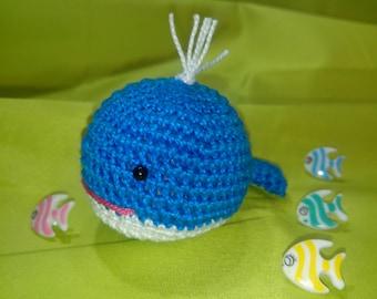 Ballena de crochet-Crochet crochet-whale-whale Baleine