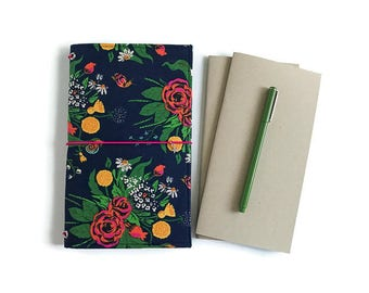 Fauxdori REGULAR Set: Pen, Dori, Two Travelers Notebook Inserts. Rifle Paper Co. Rifle Paper. Gifts for Her.