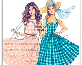 Commercial Use, Fashion illustration, Custom Fashion Illustration, custom portrait, custom illustration, custom sketch, custom drawing