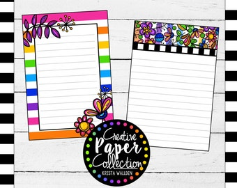 Happy Doodles: Sticky Notes (2-pack)
