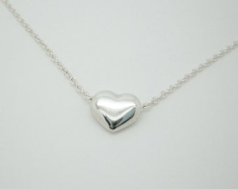 Little Rounded Heart Necklace