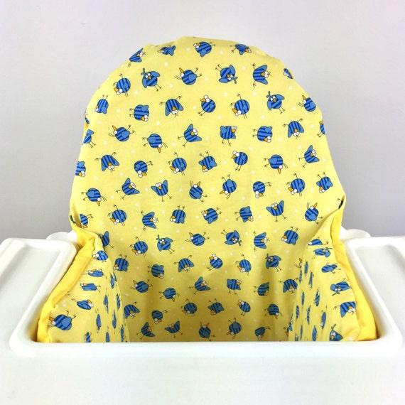 Antilop Ikea Chaise Haute Pyttig Coussin Couverture Liner Chaise