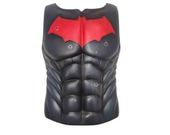 Red Hood Chest Breastplate Torso Cosplay DC Batman Handmade Fanmade Halloween Costume