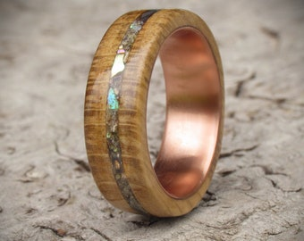 Handcrafted Wooden Rings Wooden Jewellery And Von Thewoodhutgifts