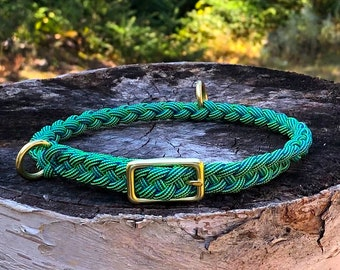"""Paracord Collar-""""SeaGrasses"""" from Small Dogs and Puppies"""