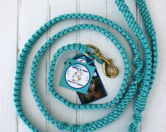 Yachtsman Classic-Turquoise Paracord Dog Leash