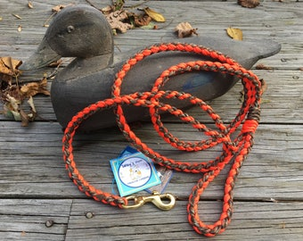Blaze and Camo Hunting Dog Leash