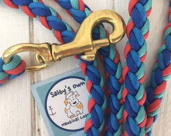 Nantucket paracord Dog Leash