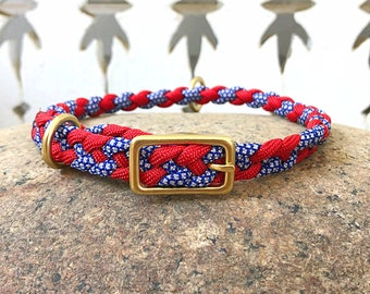 Americana Collar for Small Dogs and Puppies