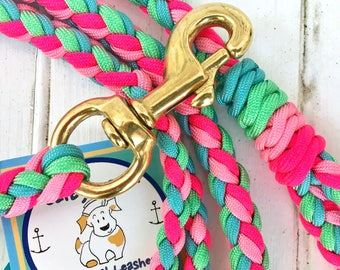"Paracord leash ""The Maggie"""