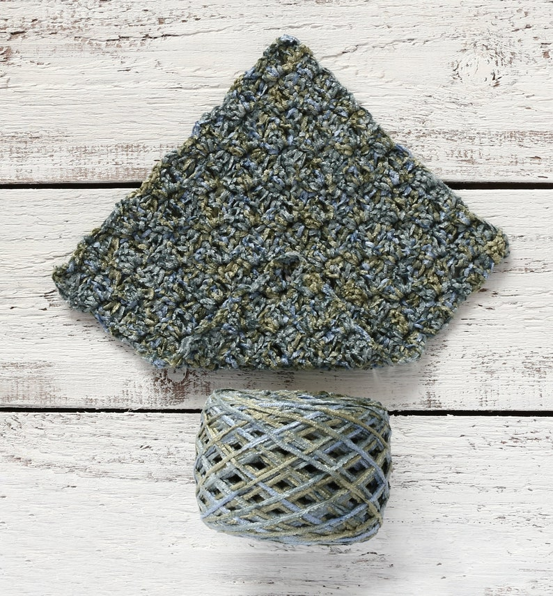 CHENILLE yarn, Viscose, Yarn, MINT color, BABY yarn, Yarn for crocheting,  Yarn for knitting, Novelty yarn, Fancy yarn, Blue yarn, Green Yarn