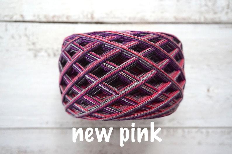 Cotton cake Yarn for knitting Cotton Yarn for crocheting Crafts SET of 3 cotton cakes Fancy yarn LOFT colors Unique yarn Sock yarn