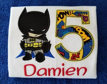 Bat boy birthday shirt, batman birthday shirt, bat man shirt
