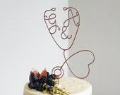 Stethoscope Cake Topper, Doctor Cake Topper, Medical Cake Toppers, Nurse Cake Topper, Wire Cake Topper, Custom Cake Topper,