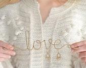 Love Jewellery Holder, Jewelry Hanger