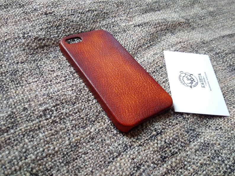 check out e1f47 75ee0 iPhone SE Leather, iPhone 5s Leather, iPhone SE case, iPhone 5s 5 ''Old  DarkBrown''