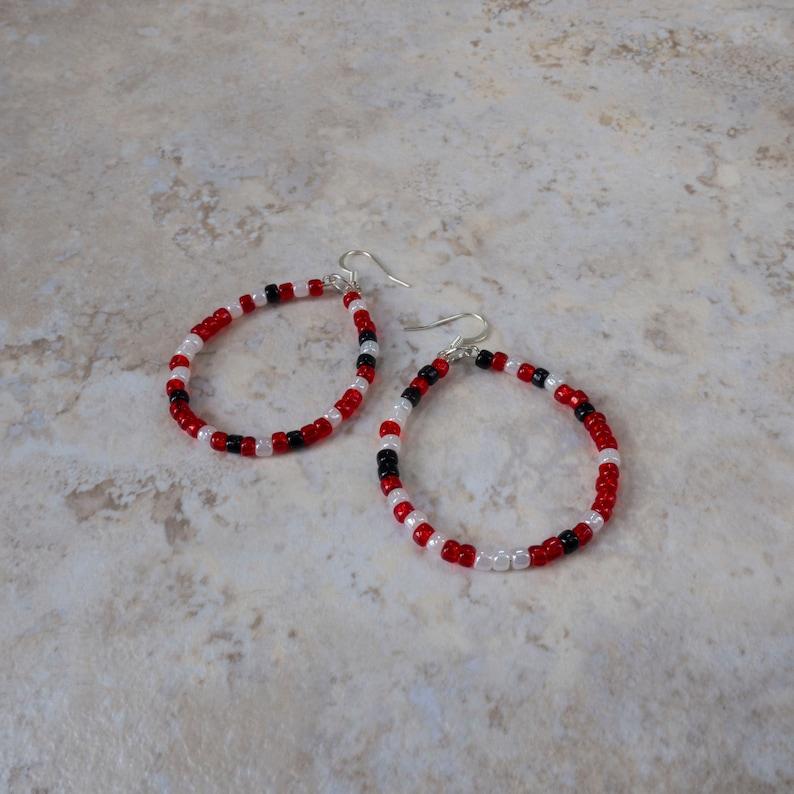Statement Jewelry Earrings Baseball Sports Team Gifts Team Baseball Moms Boho Style Hanging Earrings Handmade Minimalist Jewelry