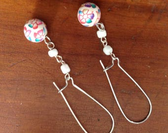 Dainty Floral Dangles