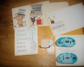 6 vintage Osterizer Recipes Pamplets for a recipe box from John Oster Manufacturing