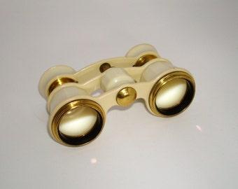 Opera Glasses - 35% off SALE - Vintage Soviet Theater Binoculars in original case