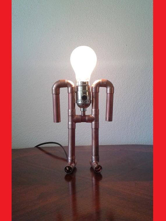 Kupferrohr Lampe The Ancient Astronaut