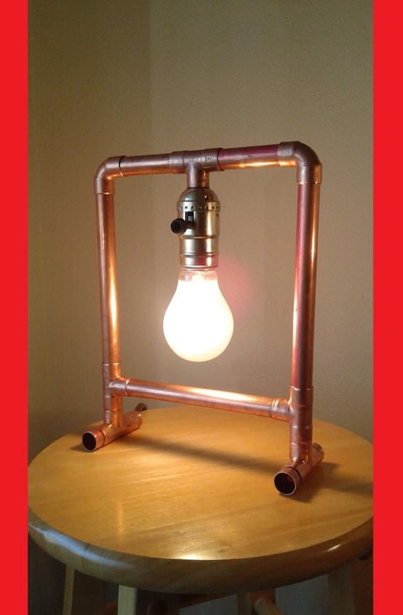 Kupferrohr Lampe The Frame
