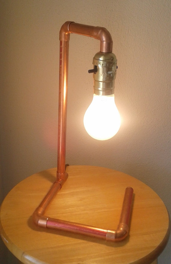 Kupferrohr Lampe Der Kranich