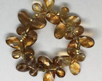 Acrylic Butterfly Bracelet/Anklet