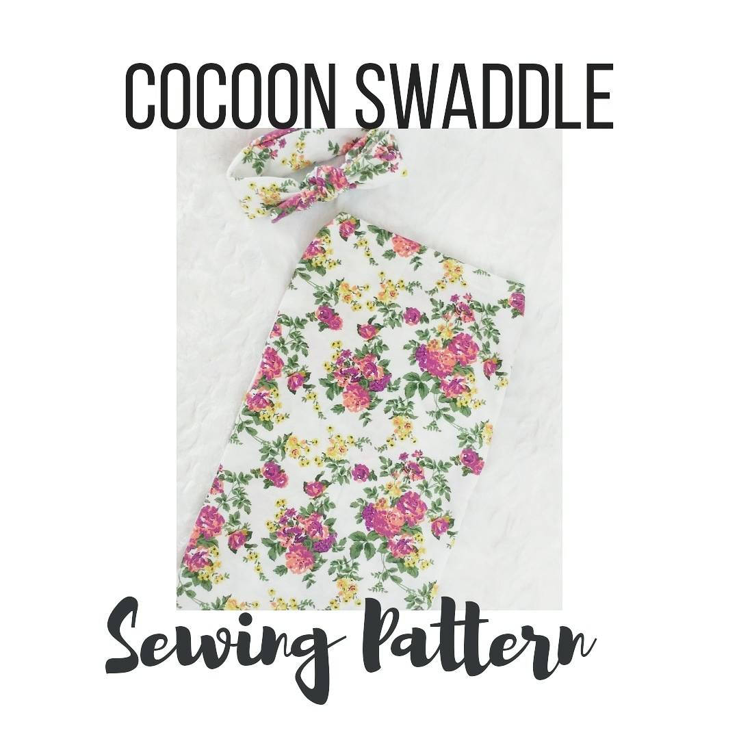 Cocoon Swaddle Sewing Pattern Baby Cocoon Swaddle Sewing Etsy