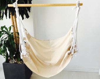 Hamac suspendu à lissez le tissu fauteuil, hamac design minimaliste - suspendus style hamac nordique - chaise - hamac (40 «-100 cms.)