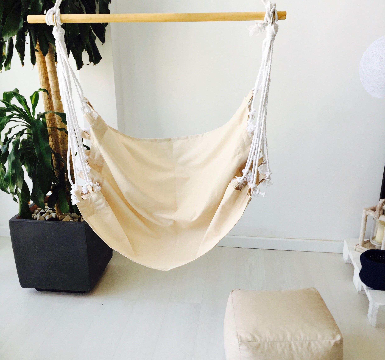 hamac suspendu lissez le tissu fauteuil hamac design. Black Bedroom Furniture Sets. Home Design Ideas