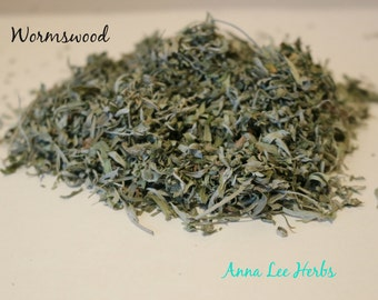 Wormwood (Dried and Grown Organically)