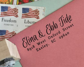 Custom Address Stamp - Type E
