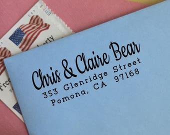 Custom Address Stamp - Type C