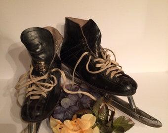 Vintage Leather Speed Skates dc393015a