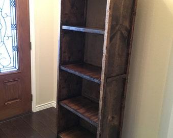 Custom Wood Bookcases