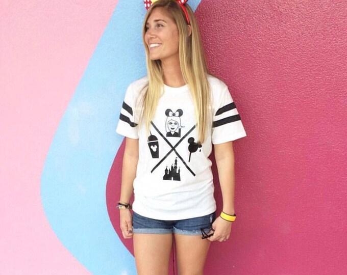 Basic Disney Girl Icons / Emoji / Tee / Sweatshirt