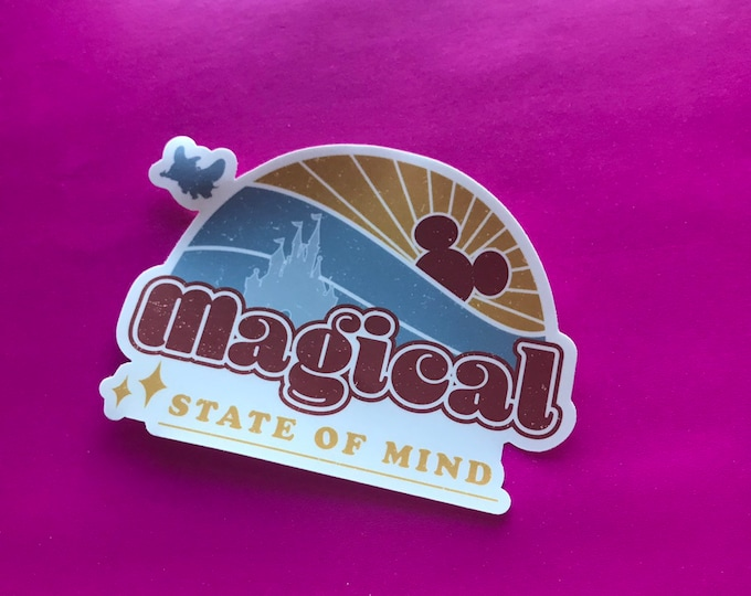 Magical State of Mind Sticker