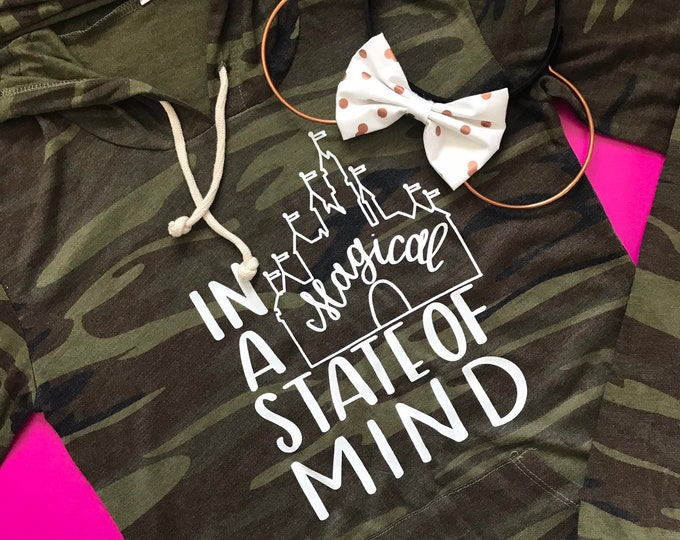 Camo - In a Magical State of Mind Adult Tees