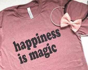Happiness is Magic Adult Tee