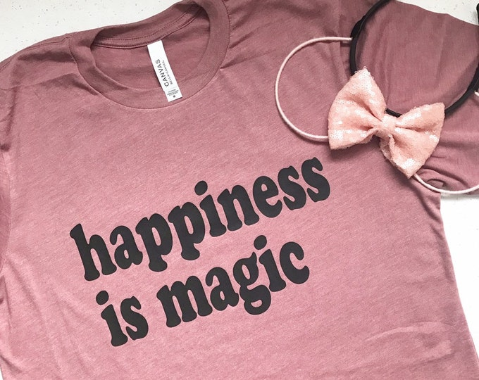 Happiness is Magic Adult Tee