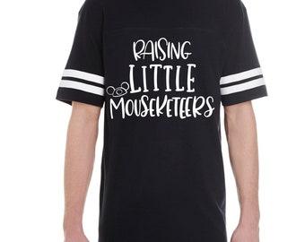 Raising Little Mouseketeers / Adult /  Unisex Tee / Tank