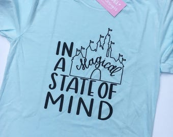 In a Magical State of Mind Tee / Tank