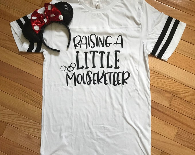 Raising a Little Mouseketeer/ Adult /  Unisex Tee / Tank