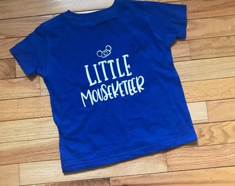 Little Mouseketeer/ Mouseke-Family Shirts / Colorful