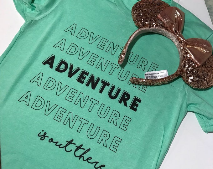 Adventure is Out There / Unisex Tee / Ladies Tank