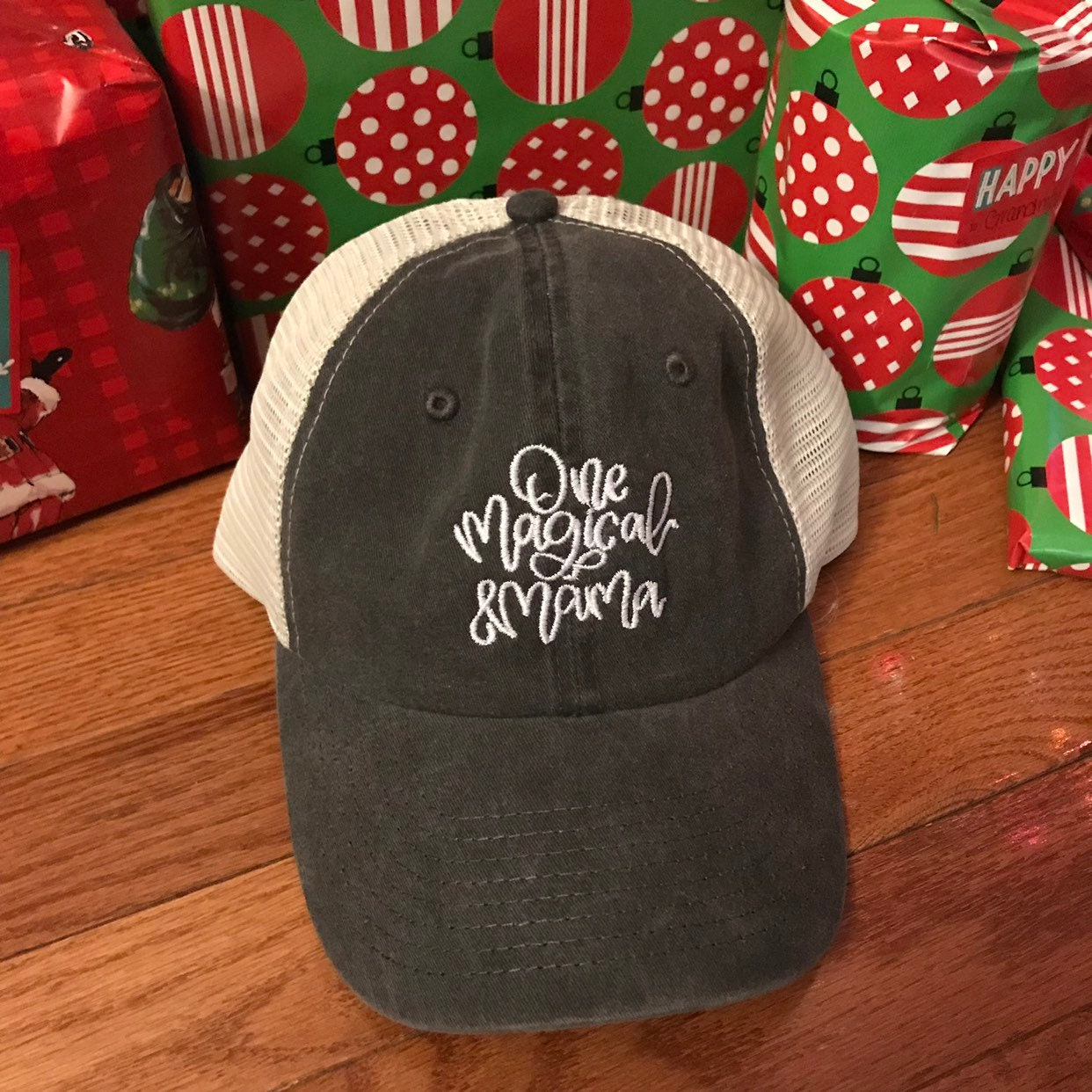 06171157f85 One Magical Mama   Trucker Style Dad Hat