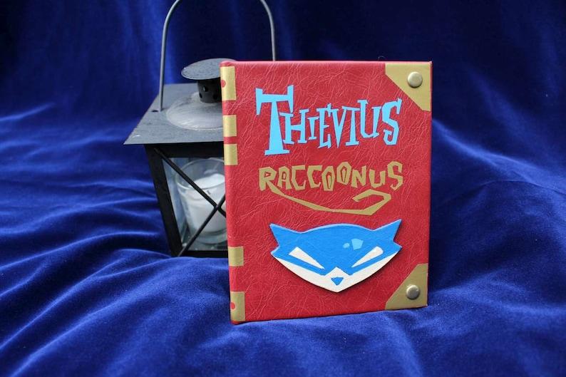 Thievius Raccoonus Sly Cooper Book Replica eReader / Kindle / image 1