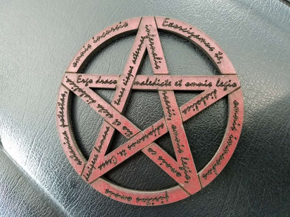 Rite of Exorcism Beer & Drink Coaster (nspired by Supernatural and Sam and  Dean Winchester)