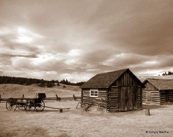 Little House On The Prairie, 8 x 10 - Original Signed Fine Art Photograph by Diego Farias -Simply Martha Shop